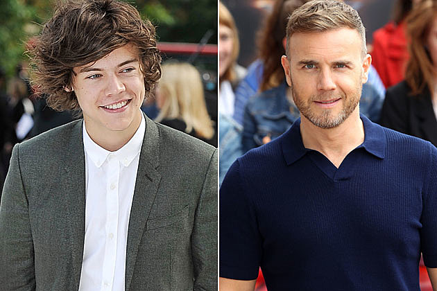 Harry Styles Gary Barlow