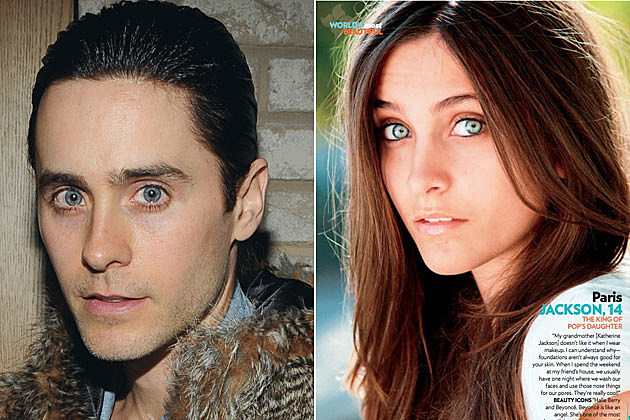 Jared Leto Paris Jackson