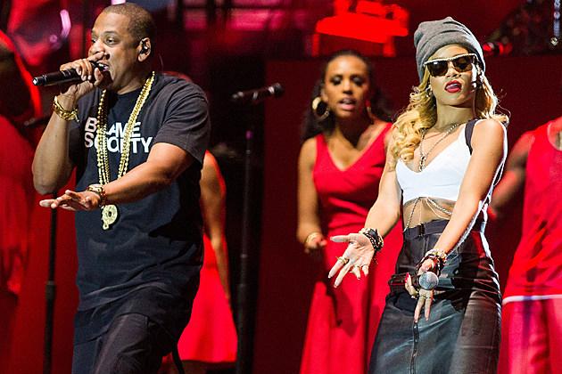 Jay-Z Rihanna