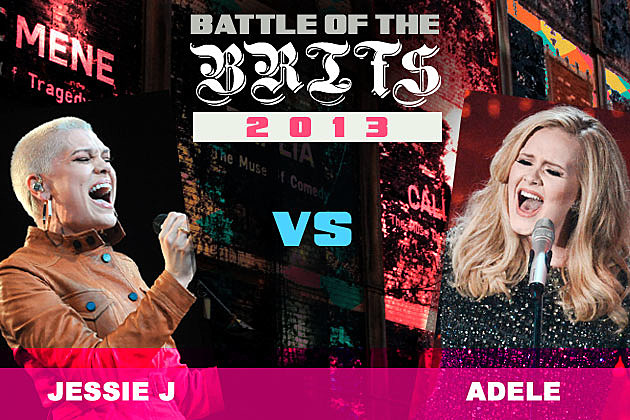 Jessie J Adele Battle of the Brits