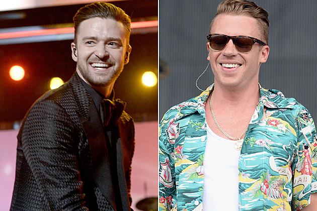 Justin Timberlake Macklemore