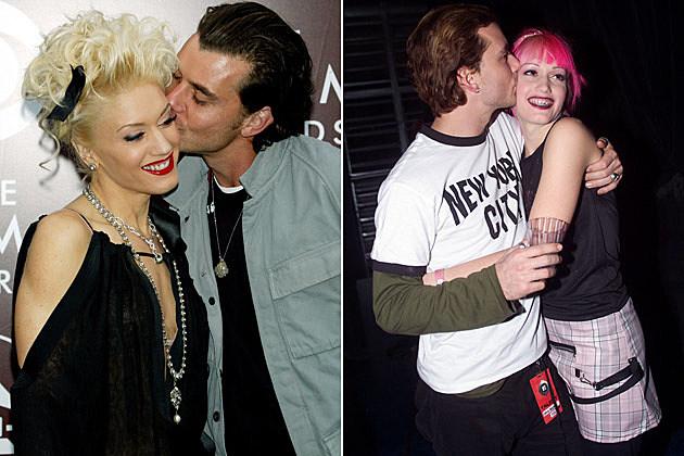 Gwen Stefani Gavin Rossdale Kissing