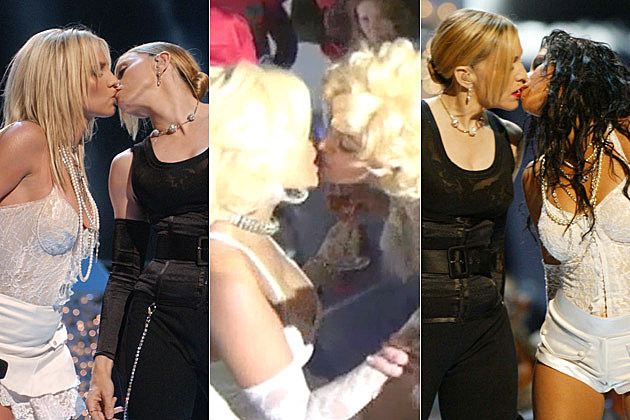 Madonna Kissing Britney Spears Nicki Minaj Christina Aguilera