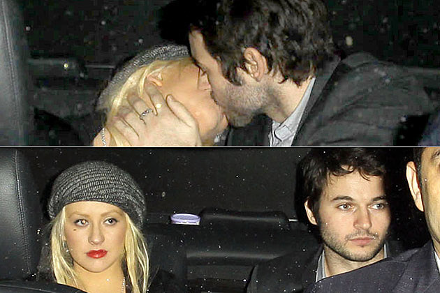 Christina Aguilera Matt Rutler Kissing