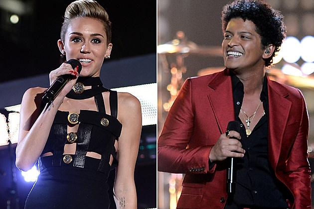 Miley Cyrus Bruno Mars