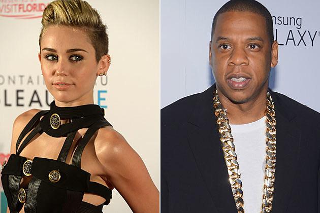 Miley Cyrus Jay-Z