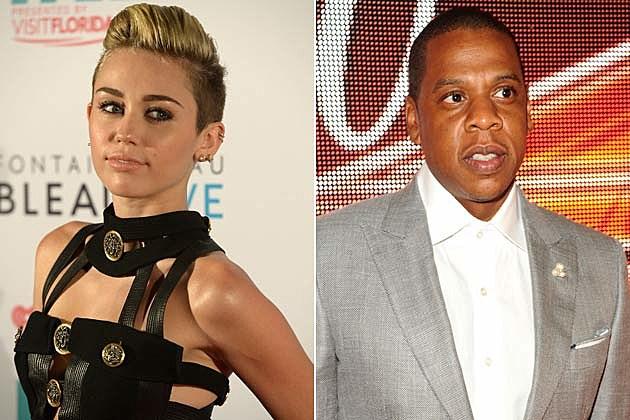 Miley Cyrus, Jay-Z
