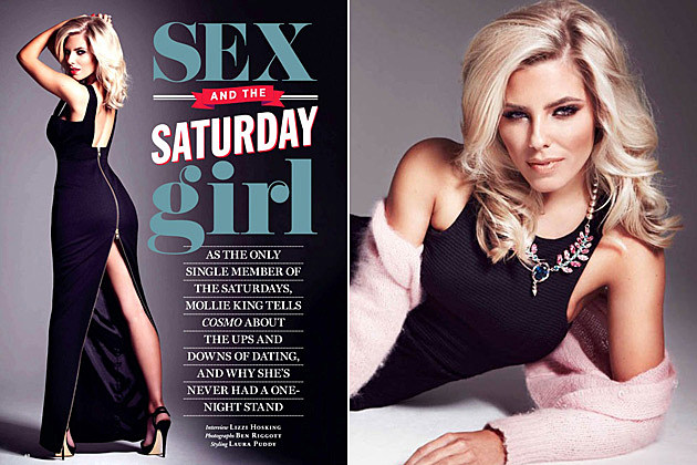 Mollie King the Saturdays Cosmopolitan 2013