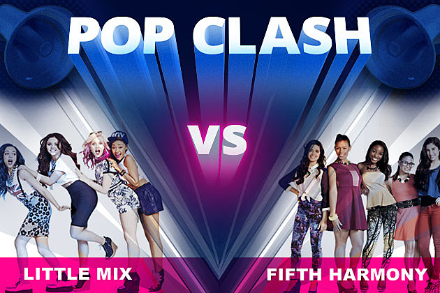 Little Mix Fifth Harmony Pop Clash