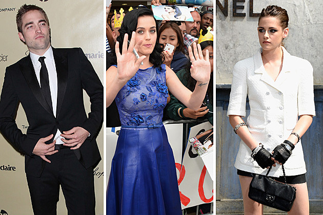 Robert Pattinson, Katy Perry, Kristen Stewart