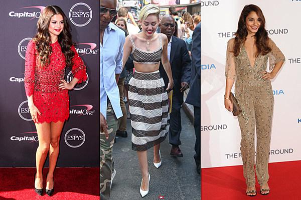 Selena Gomez vs. Miley Cyrus vs. Vanessa Hudgens: Who Was the Best Dressed Star This Week? – Readers Poll