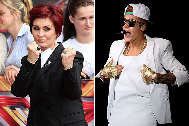 Sharon Osbourne, Justin Bieber