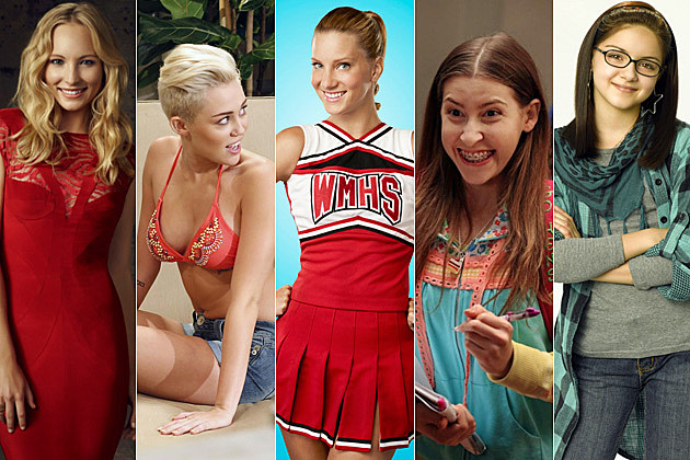 Candice Accola Miley Cyrus Heather Morris Eden Sher Ariel Winter