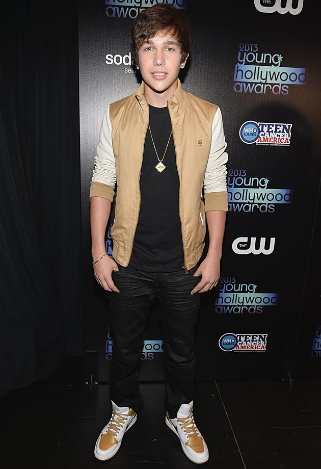 Austin Mahone 2013 Young Hollywood