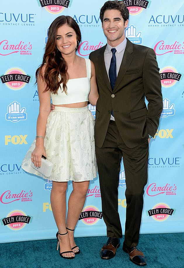 Darren Criss Lucy Hale 2013 Teen Choice Awards