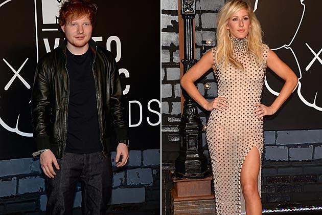 Ed Sheeran Ellie Goulding 2013 VMAs