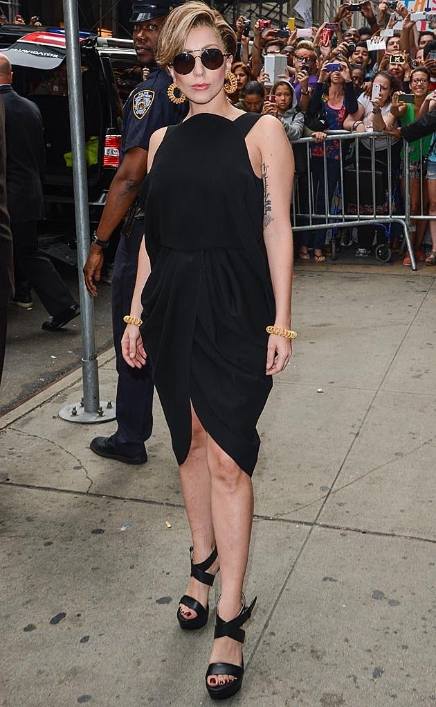 Lady Gaga Balenciaga Alexander Wang