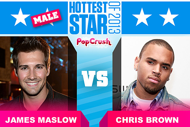 James Maslow Chris Brown Hottest Star of 2013