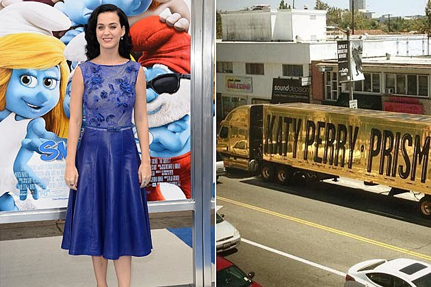 Katy Perry Prism Truck
