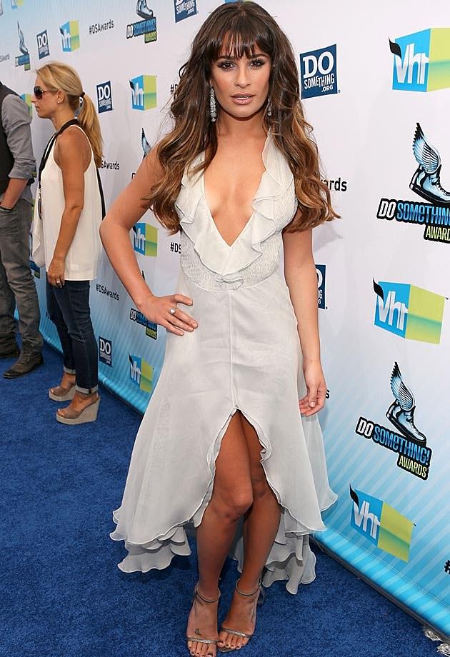 Lea Michele Armani
