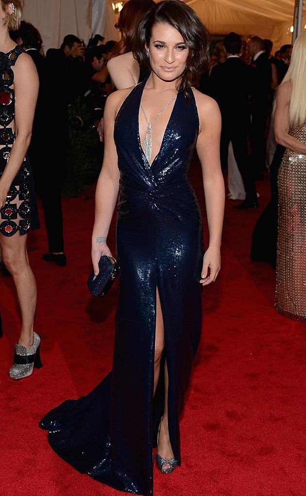 Lea Michele Diane von Furstenberg