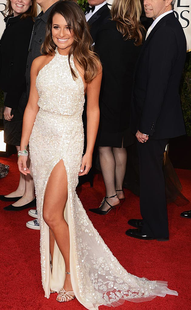 Lea Michele's Best Red Carpet Dresses