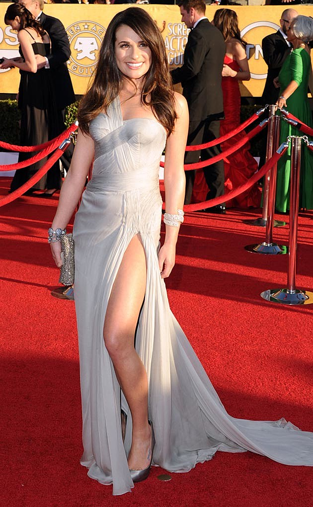 Lea Michele Versace