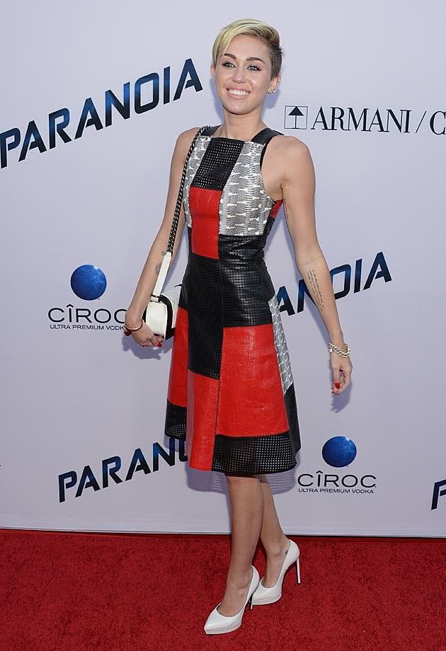 Miley Cyrus Proenza Schouler Paranoia Premiere