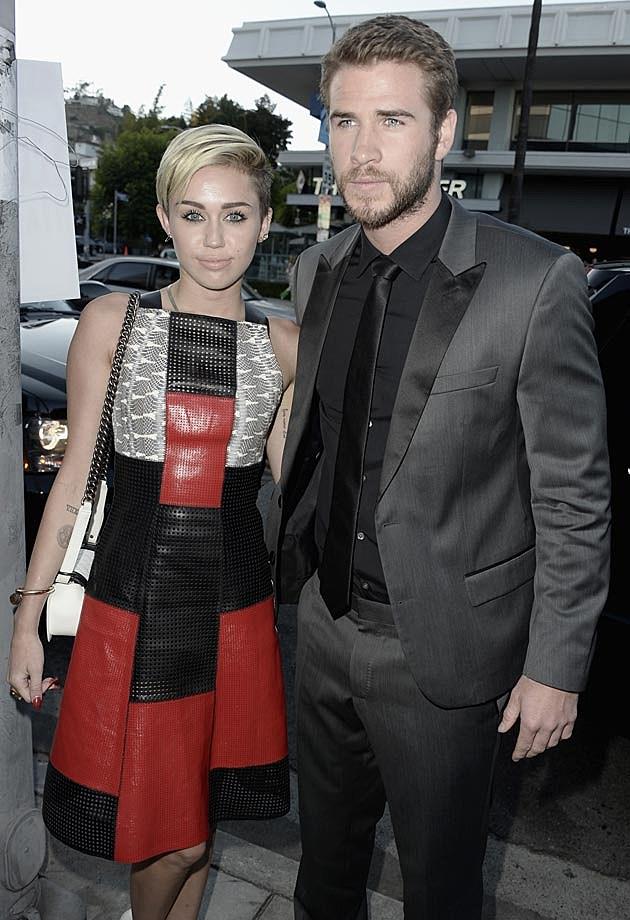 Miley Liam Paranoia Premiere