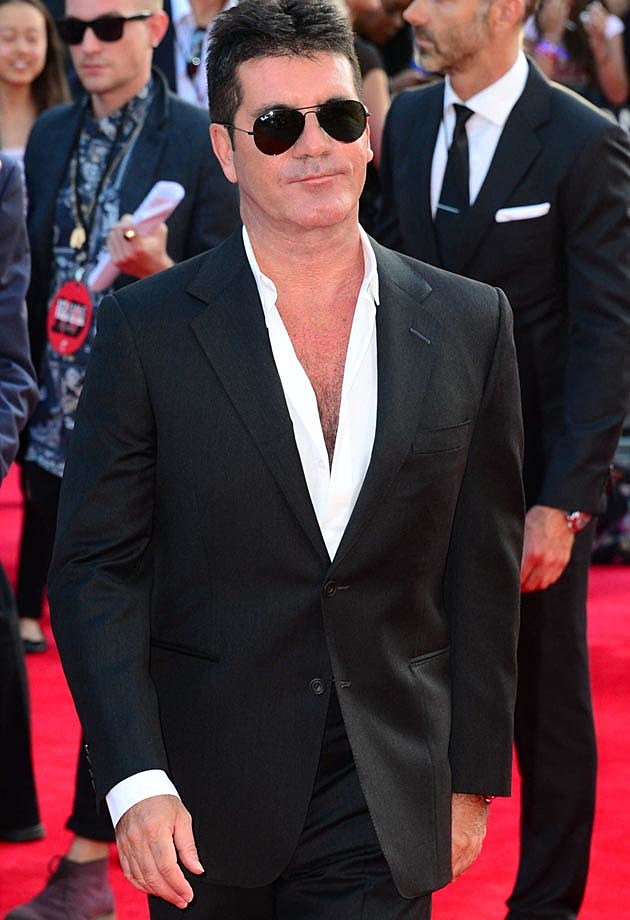 Simon Cowell One Direction This Is Us Premiere