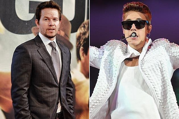 Mark Wahlberg Justin Bieber