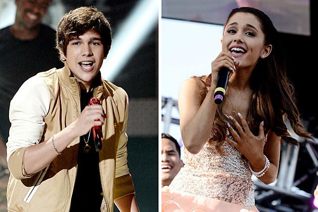 Austin Mahone, Ariana Grande