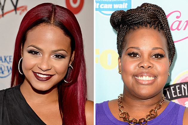 Christina Milian, Amber Riley