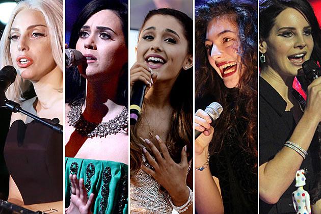 gaga katy ariana lorde lana Weigh In:  2014 Grammy Snubs & Surprises