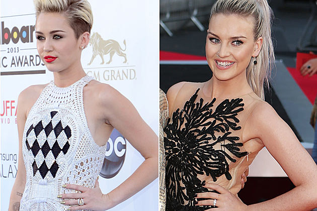 miley cyrus perrie edwards