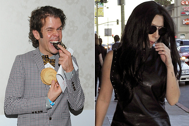 Perez Hilton Practically Stalking Lady Gaga