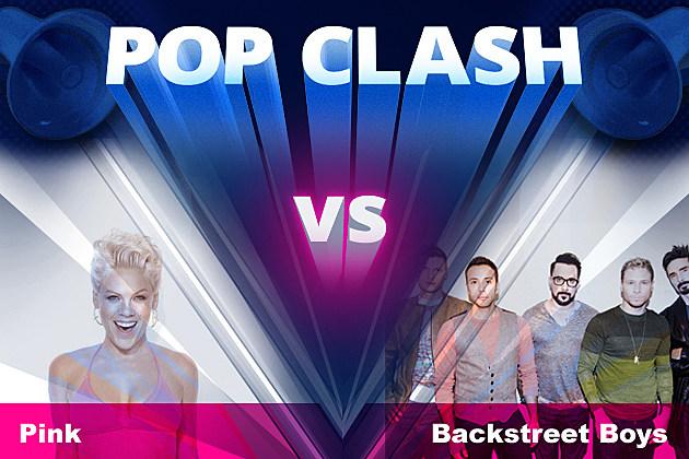 Pop Clash Pink Backstreet Boys