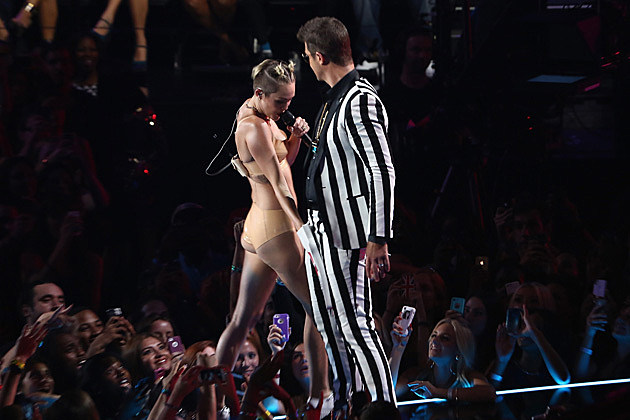 Robin Thicke, Miley Cyrus