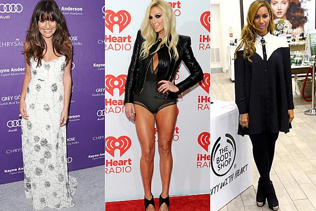 Lea Michele Kesha Leona Lewis