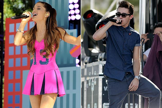 Ariana Grande Dating Nathan Sykes of The Wanted