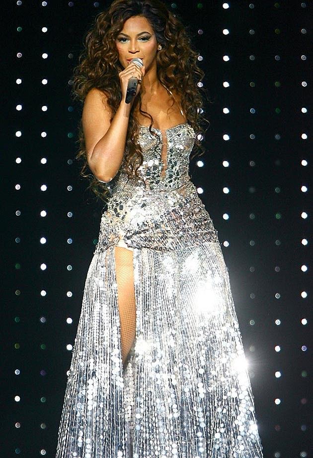 Beyonce Silver Sparkle 2007