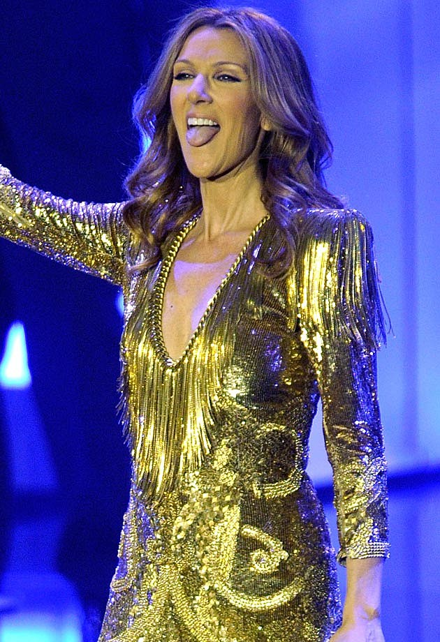 Celine Dion Tongue