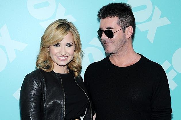 Demi Lovato Simon Cowell