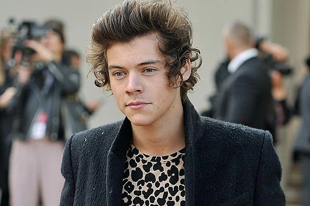 Harry Styles London Burberry