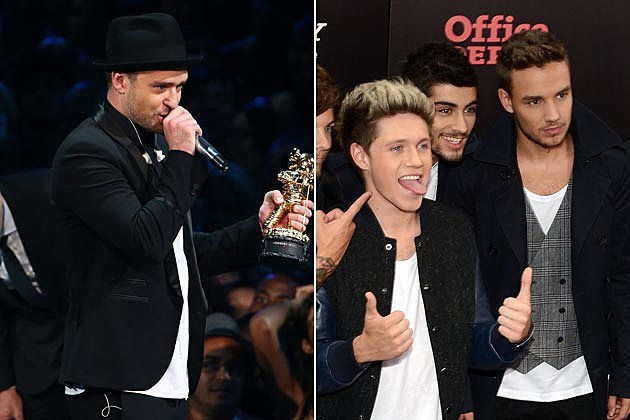 Justin Timberlake One Direction
