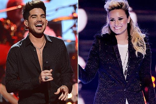 Adam Lambert Demi Lovato