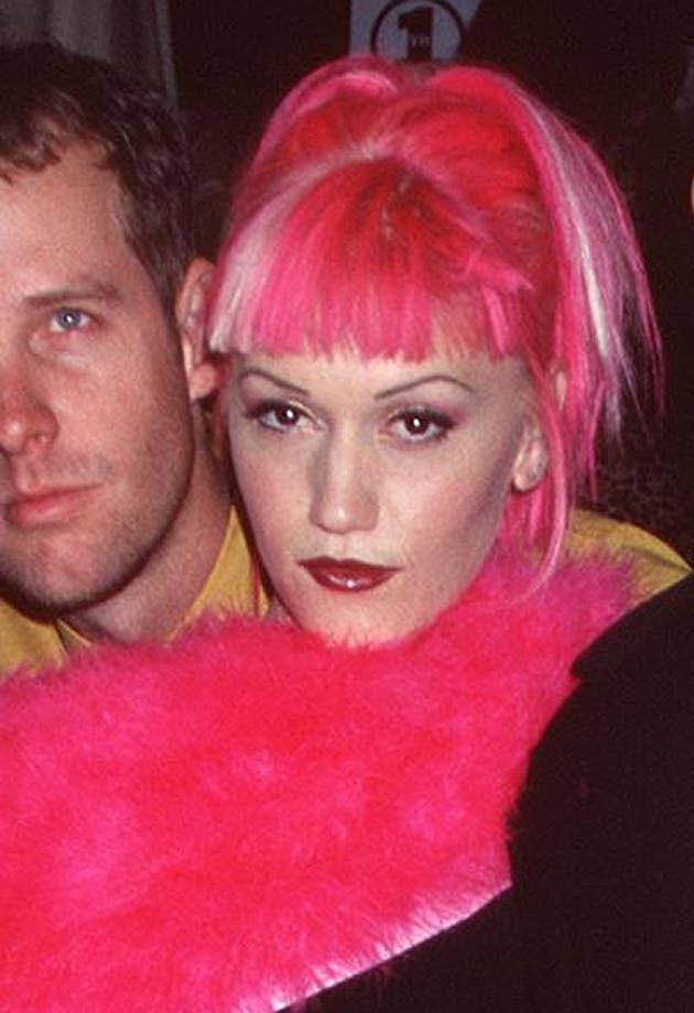 Gwen Stefani Pink Hair