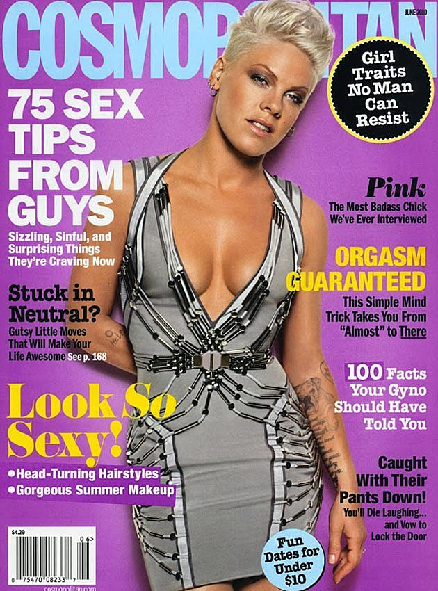 Pink Cosmo Cover