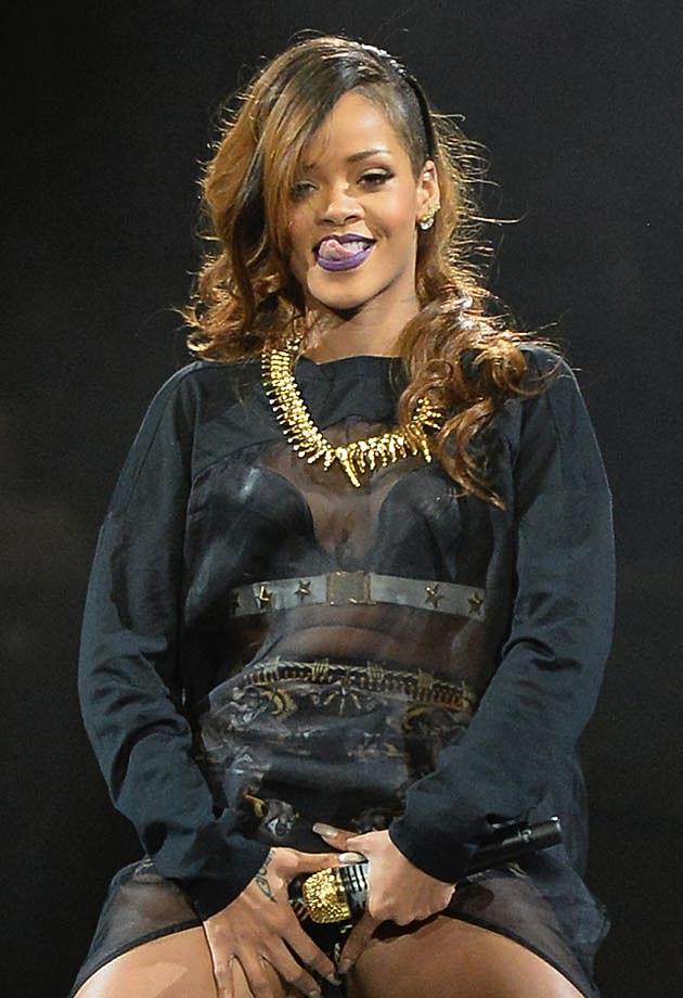 Rihanna Tongue