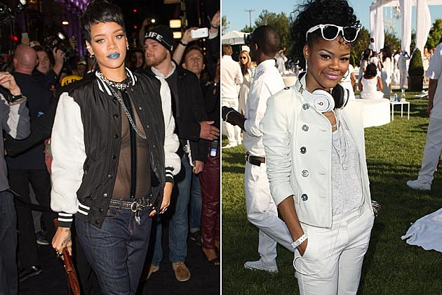 Rihanna Teyana Taylor